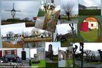 Damme/ Belgien,  nahe Brügge - Bücherdorf mit Windmühle und Till Eulenspiegel