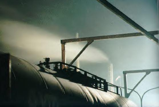 Dampf ablassen