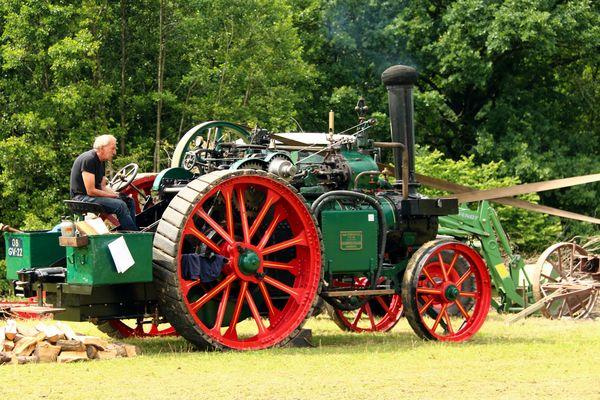 Dampf als Antriebstechnik