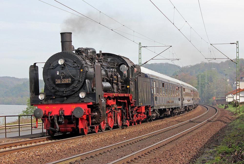 Dampf am Rhein #2