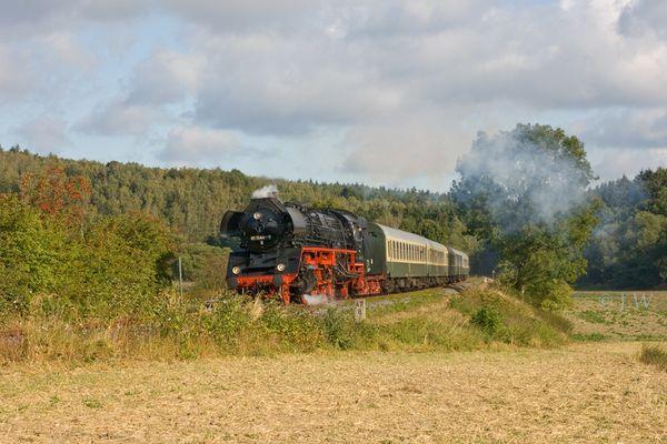 Dampf auf der Elstertalbahn