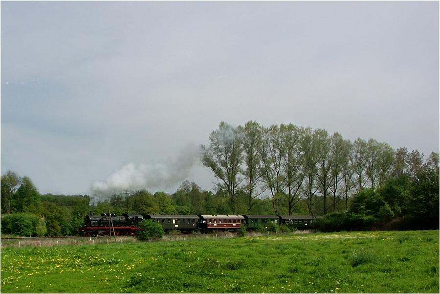 Dampf auf der Ennepetalbahn