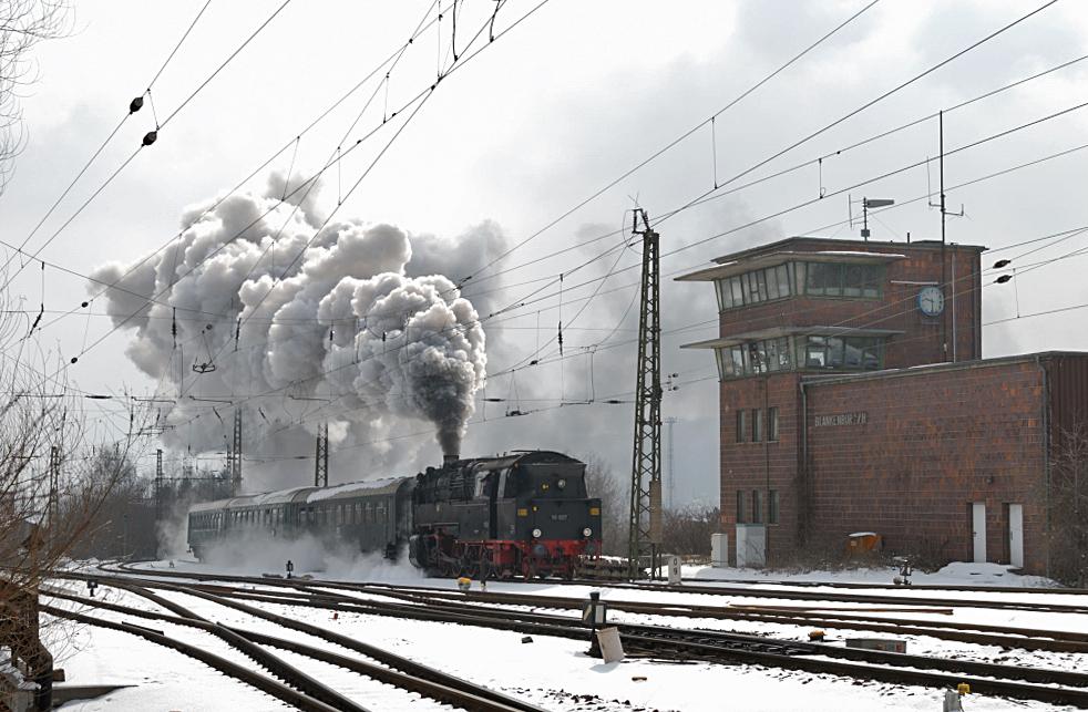 Dampf auf der Rübelandbahn