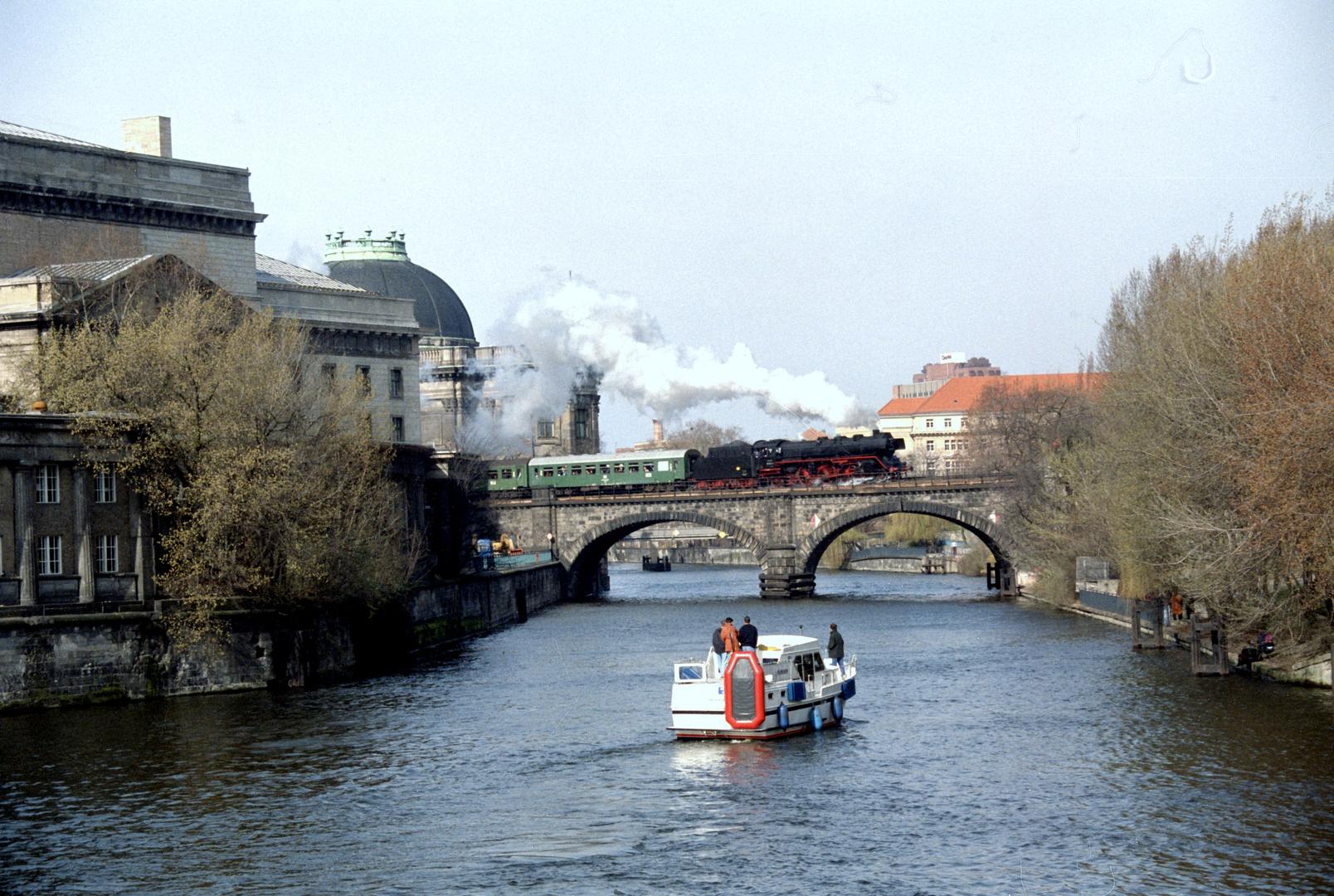 Dampf auf der Stadtbahn