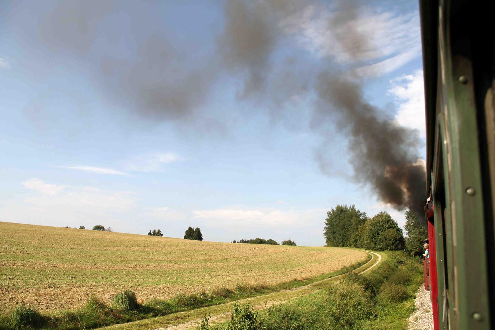 Dampf aus der Öchsle-Bahn