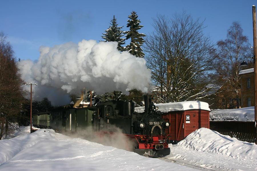 Dampf ins neue Jahr