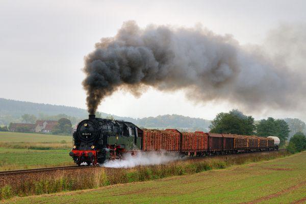 """""""Dampf trifft Kies"""" bei schönstem Wetter (Bild 2)"""