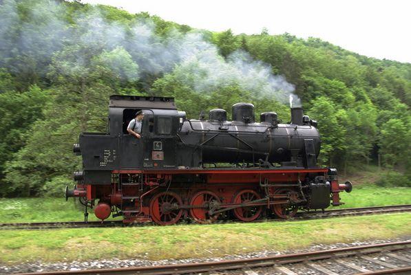 Dampfbahn Fränkische Schweiz e.V. Lokomotive 4 (Bauart ELNA 6)