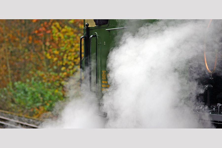 Dampfbahnfahrt