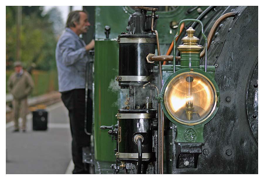 Dampfbahnfahrt II