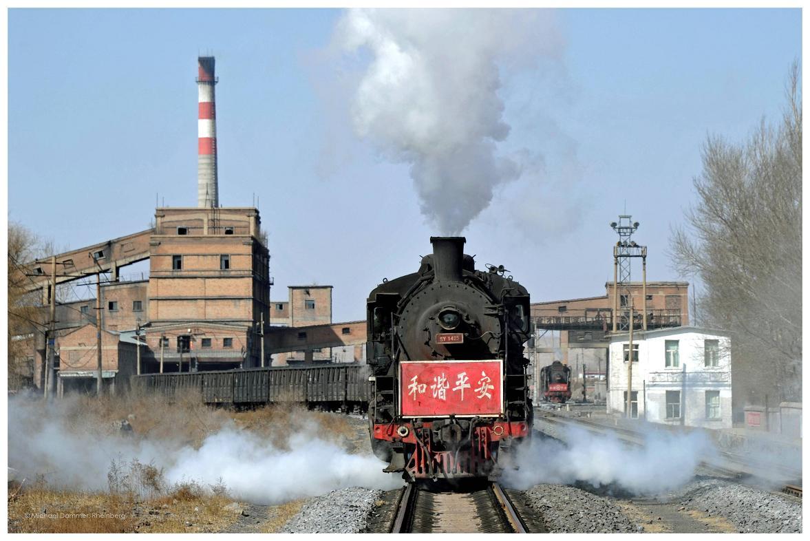 Dampfbetrieb an der Kohlenwäsche
