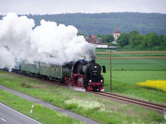 Dampfbetrieb auf der Horlofftalbahn