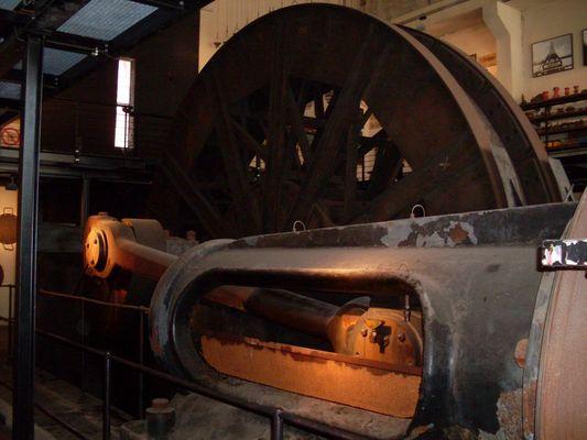 Dampfdruck-Fördermaschine
