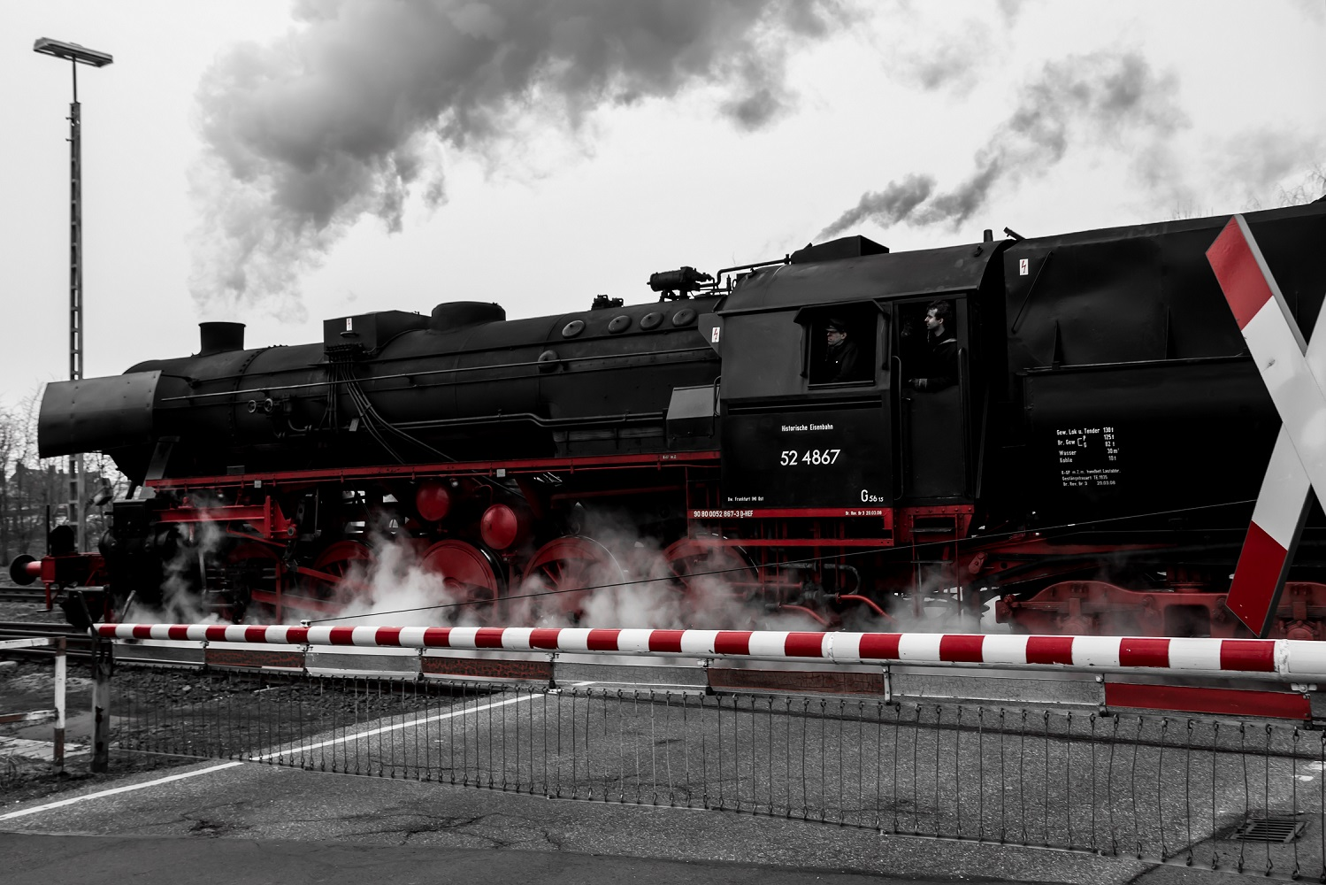 Dampfeilzug aus Treysa