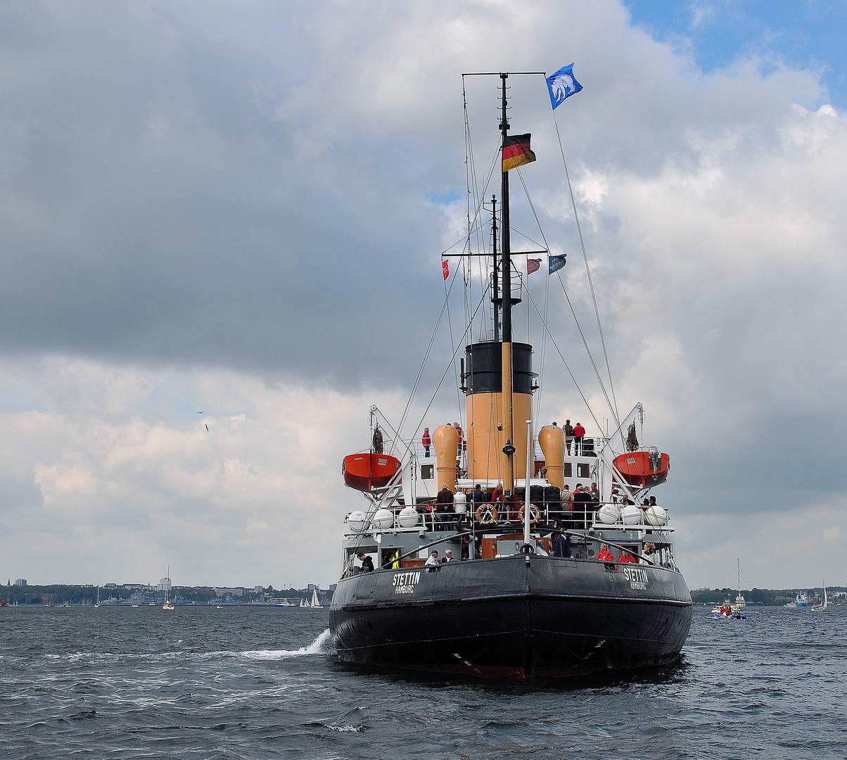 """Dampfer """"Stettin"""","""