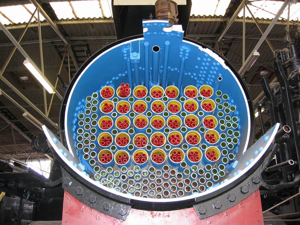 Dampfkessel von Dampflok 18 427 Foto & Bild | dampf-, diesel- und e ...