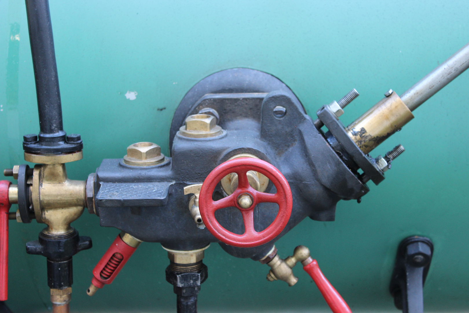 Dampfkesselsteuerung, ohne Platine