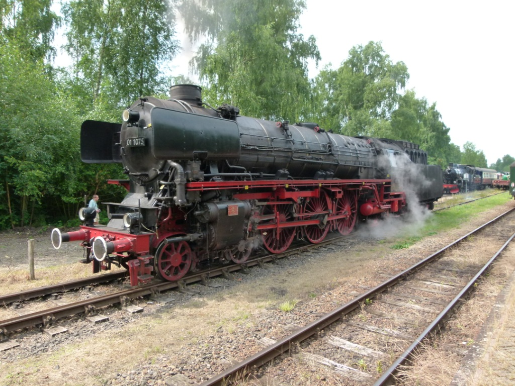 Dampflok 01 in Holland