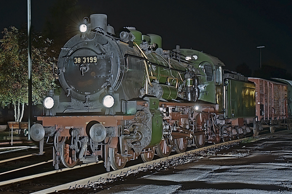 Dampflok 38 3199