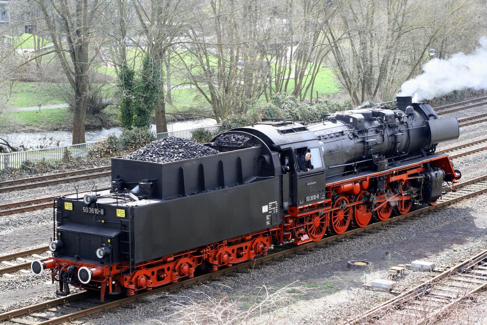 Dampflok 50 3610-8
