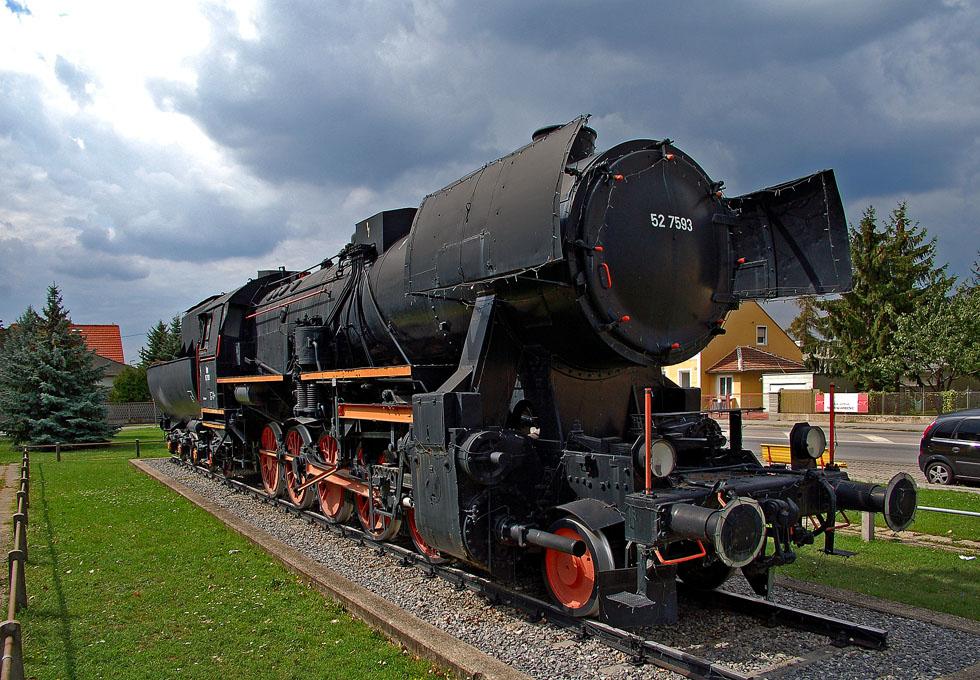 Dampflok 52.7593 in Strasshof