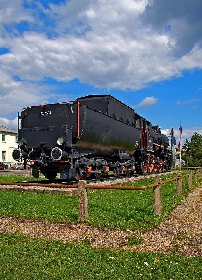 Dampflok 52.7593 in Strasshof II