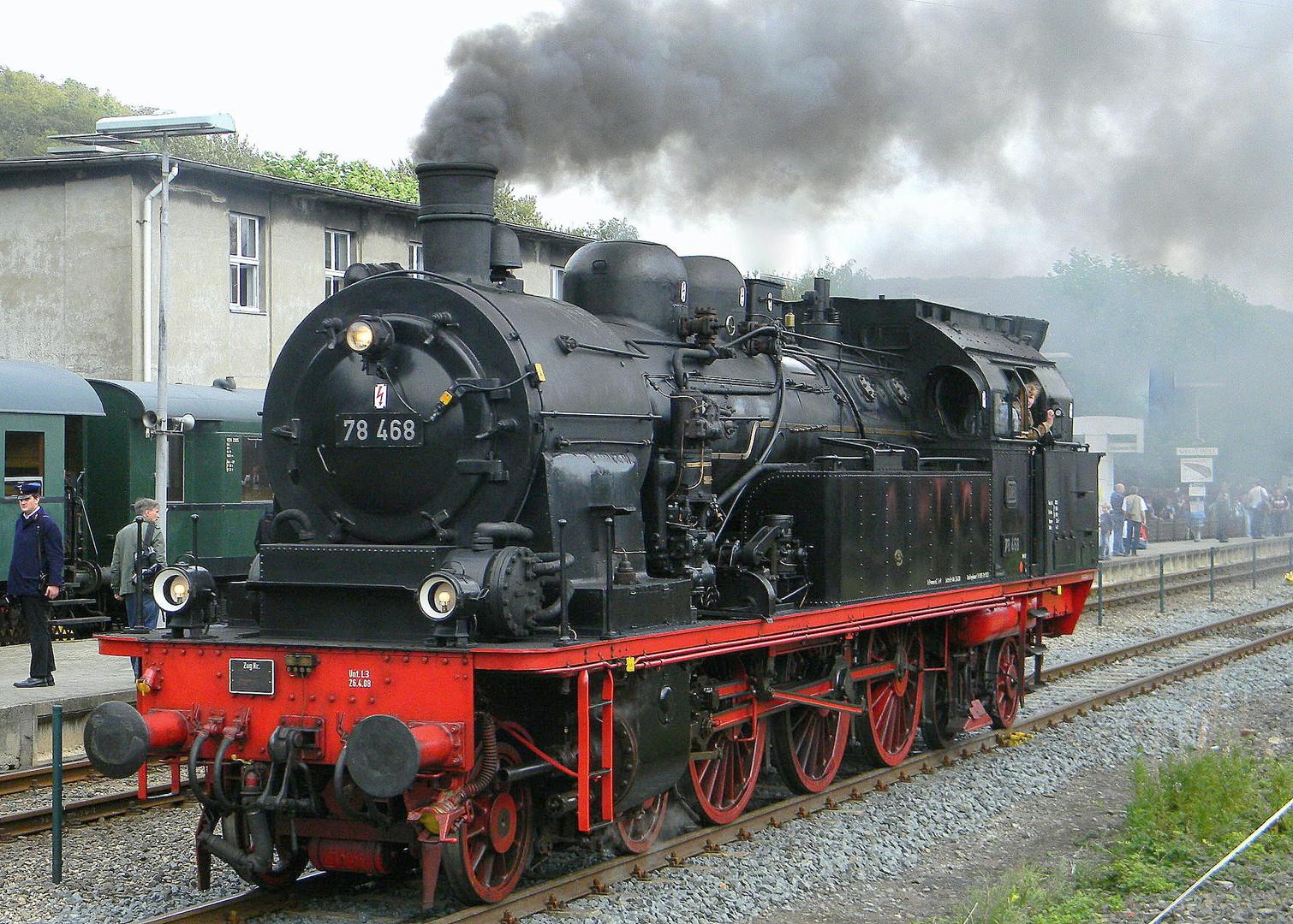 Dampflok 78 468