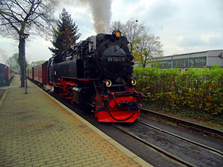 Dampflok aus dem Harz
