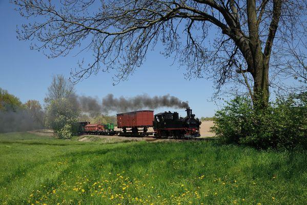 "Dampflok befördert ""Diesel-Ameise"""