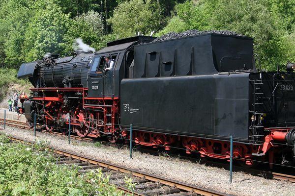Dampflok BR 23