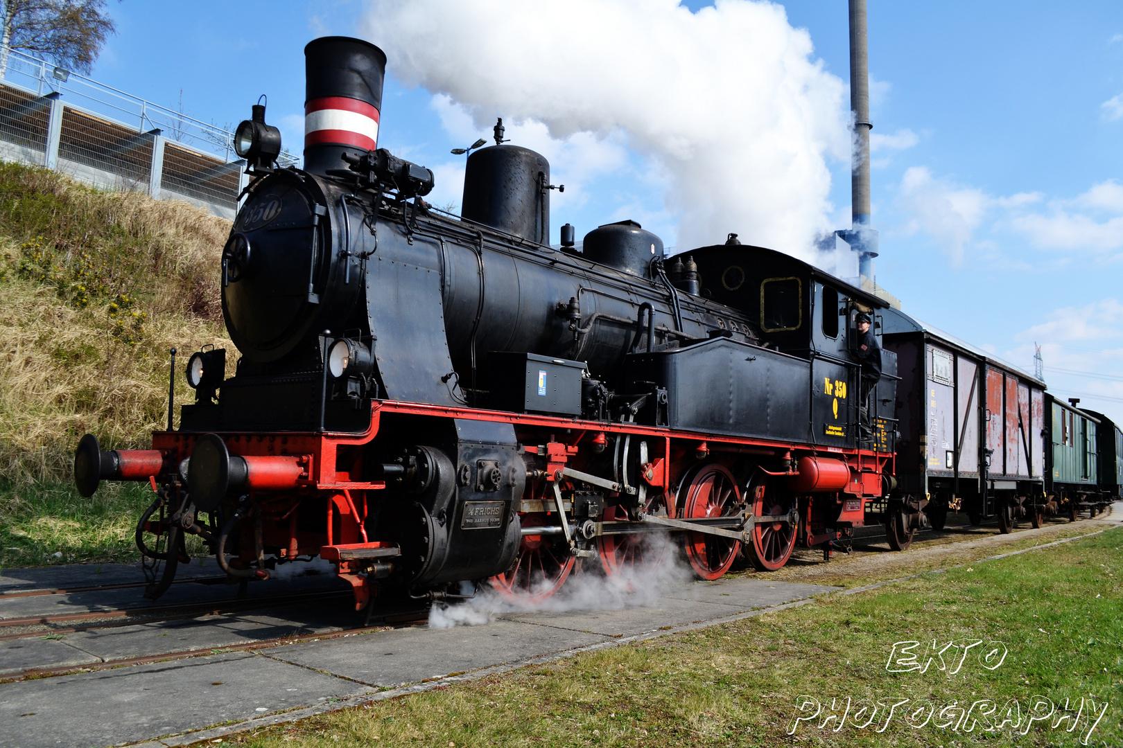 Dampflok der Strecke Bergedorf - Geesthacht