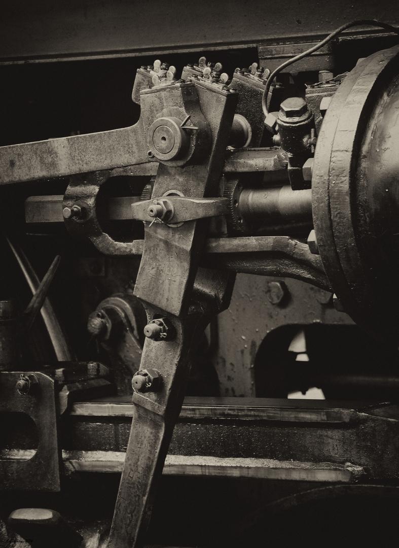 Dampflok -Detail