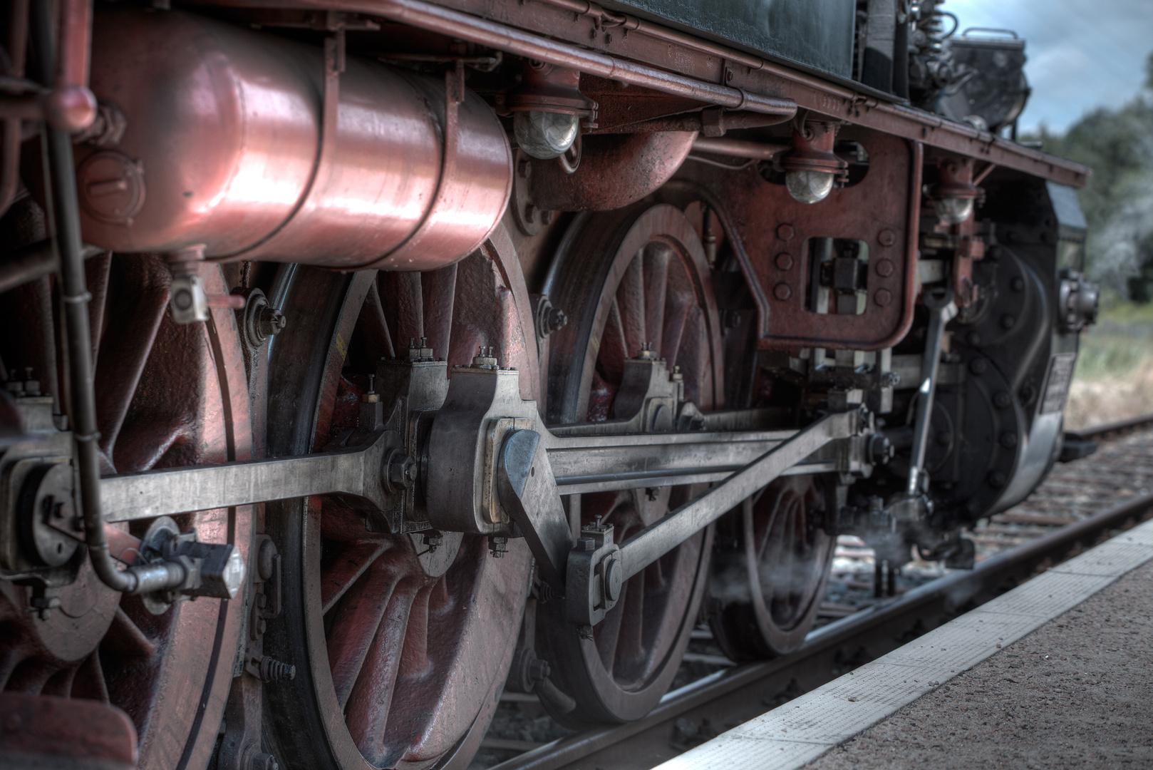 Dampflok Detailaufnahme