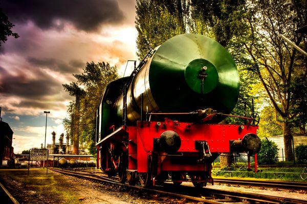 Dampflok in Herne