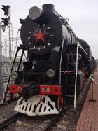 Dampflok Moskau Rigaer Bahnhof