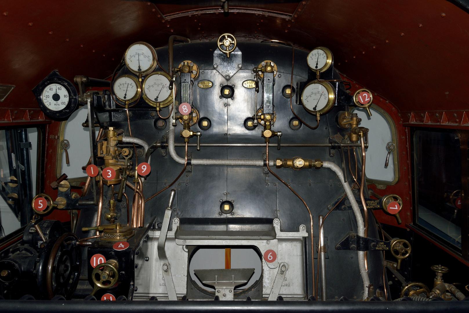 """Dampflok Schnellstartanleitung, steam loco quick guide, """"figure one"""""""