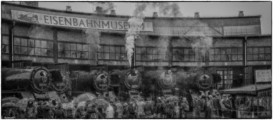 Dampflok Treffen Dresden 2016