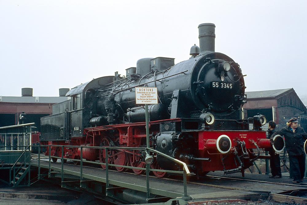 Dampflokabschiedsfest Stolberg – 55 3345