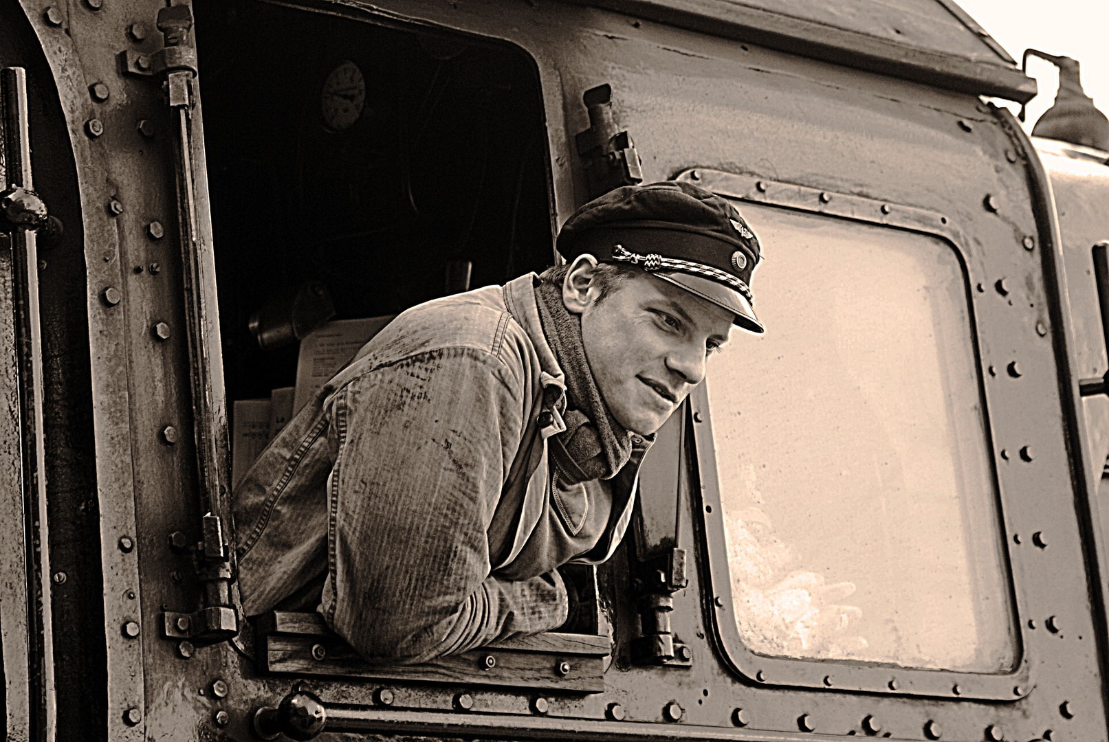 Dampflokführer
