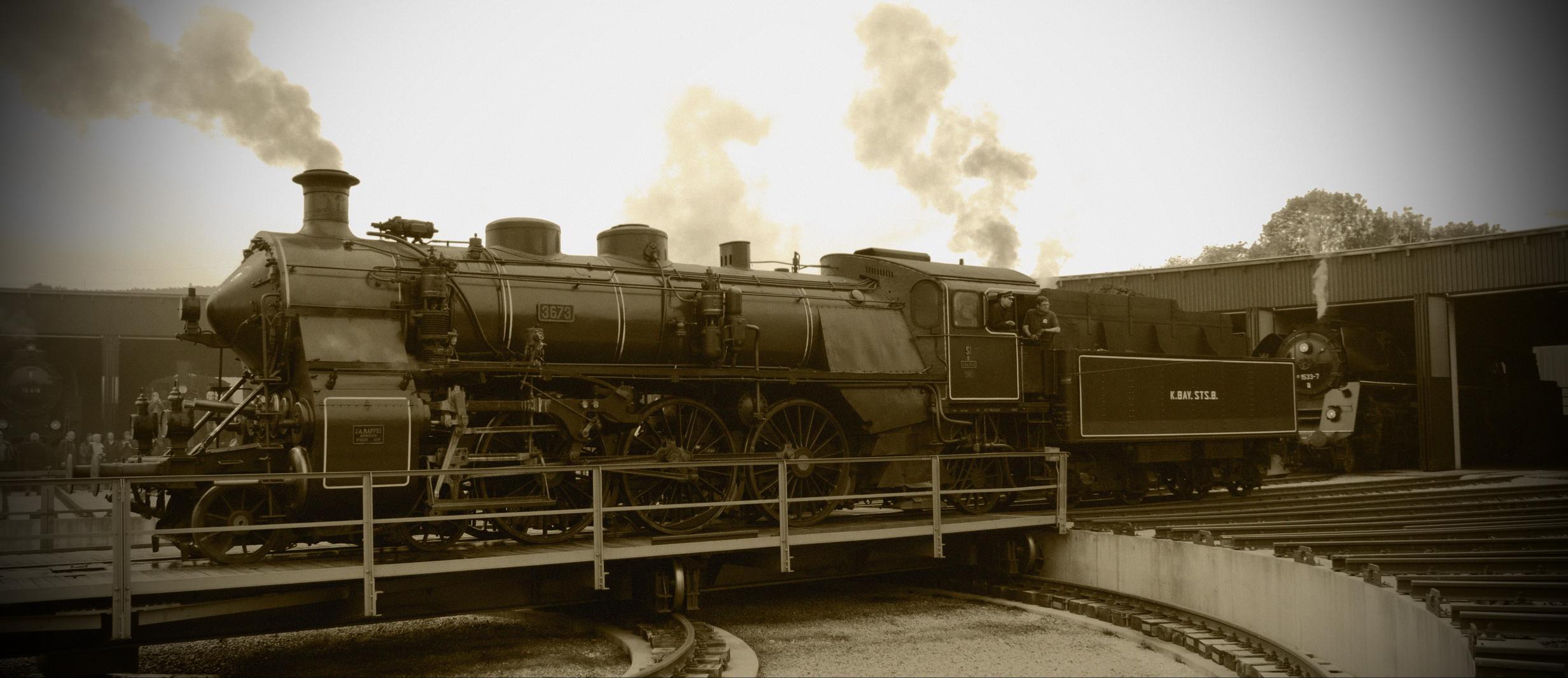 Dampflokomotive 18 478 (bay. S 3/6)