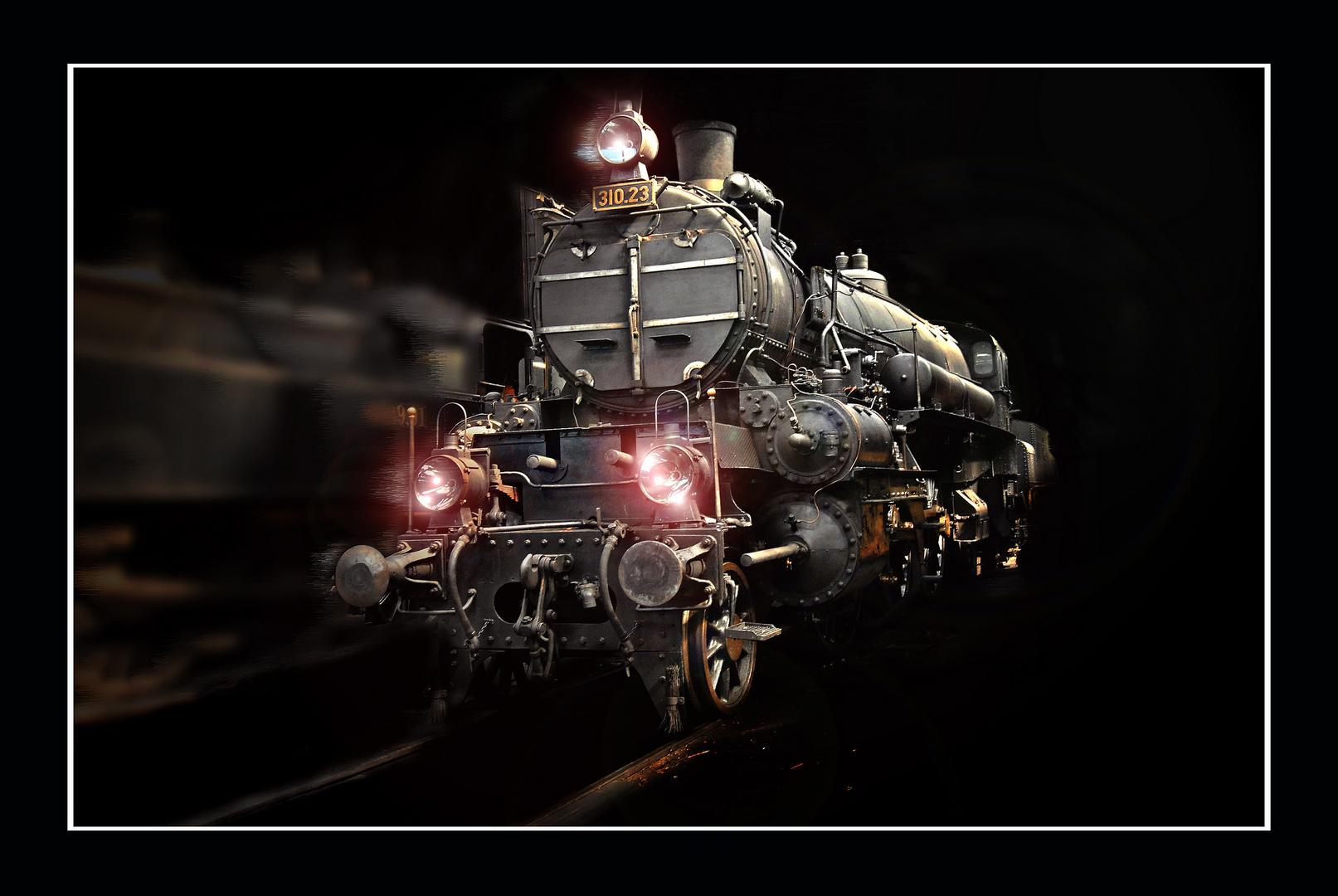 Dampflokomotive (Bearbeitet)
