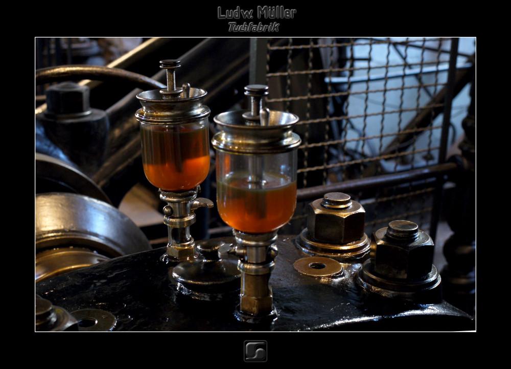 Dampfmaschine - Automatische Ölung