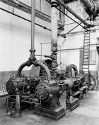 Dampfmaschine einer Wollwäsche