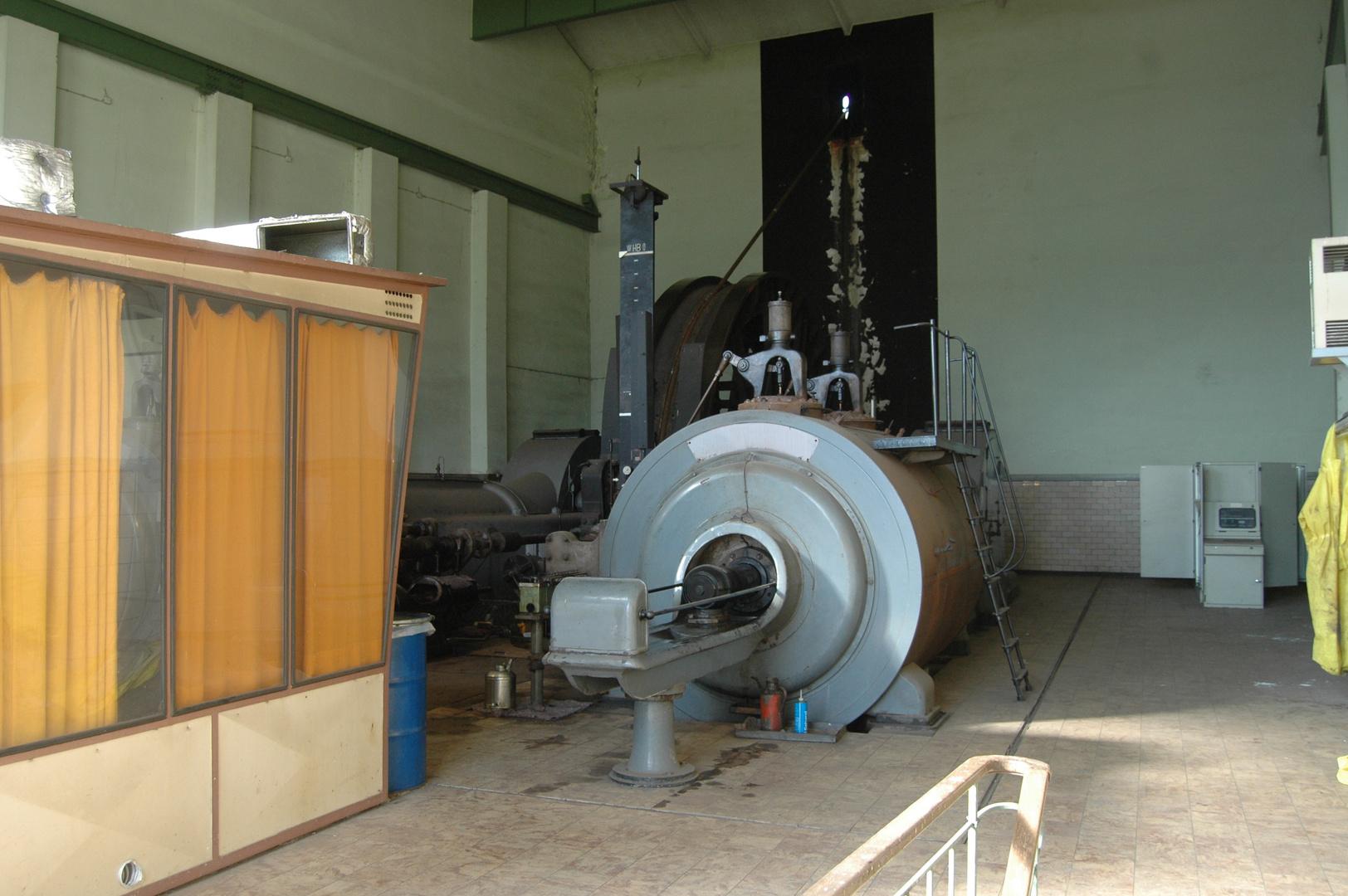 Dampfmaschine im Ruhrgebiet