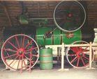 Dampfmaschine in Betrieb