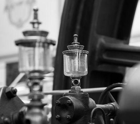 Dampfmaschine in der Brauerei Feldschlösschen
