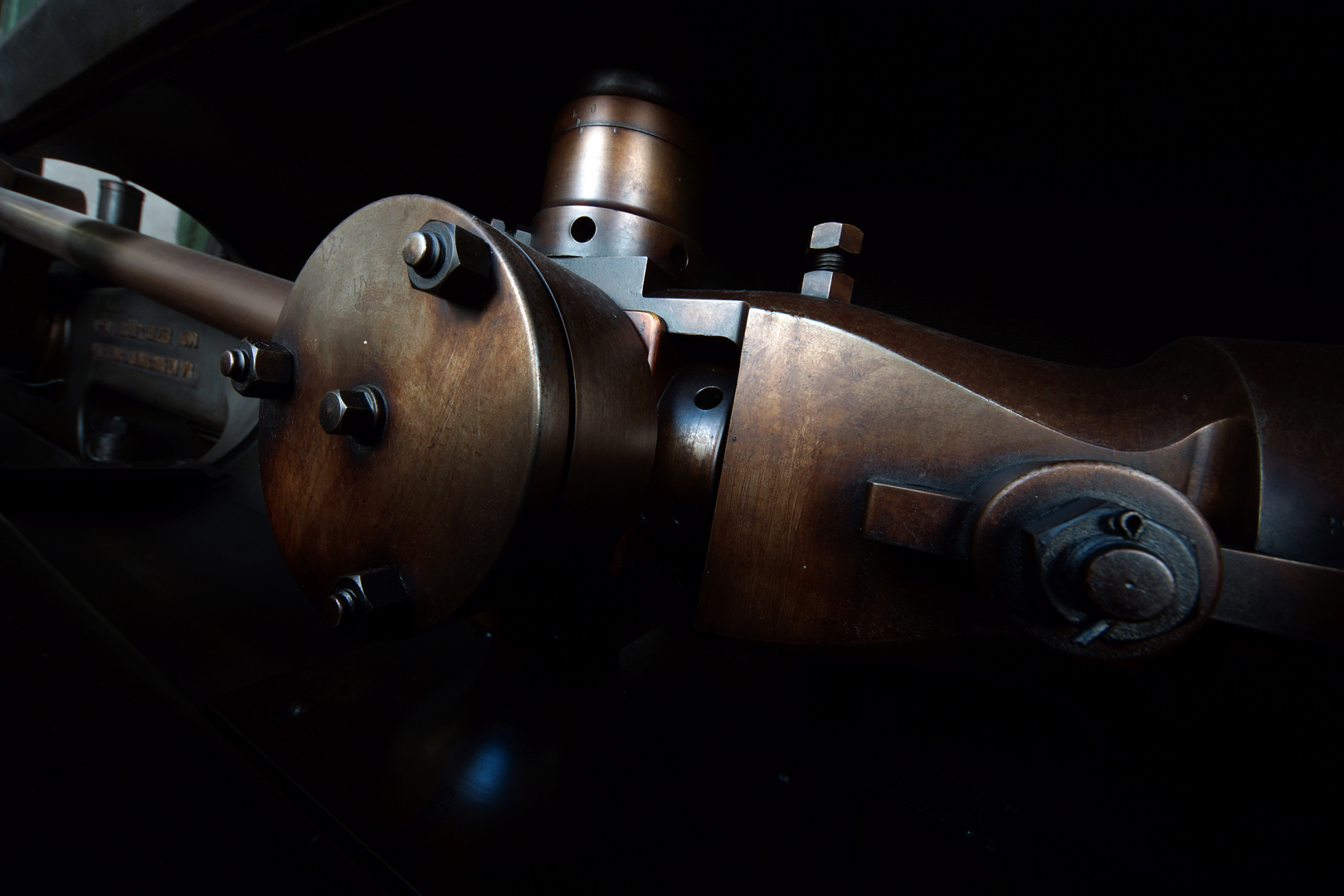 Dampfmaschine von Sulzer aus dem Jahre 1899