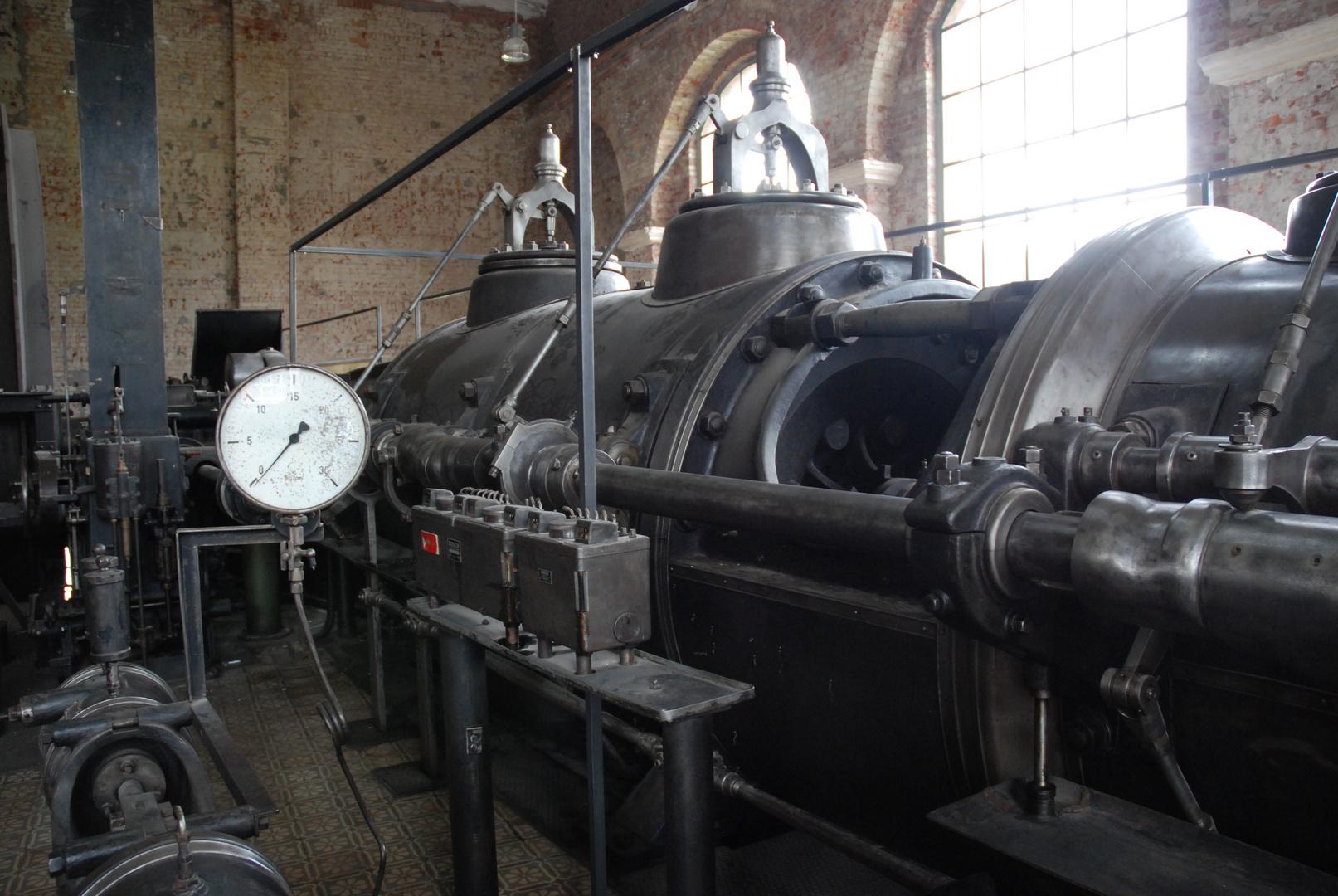 Dampfmaschine Zeche Waltrop