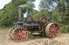 Dampfmaschine zum Pflügen