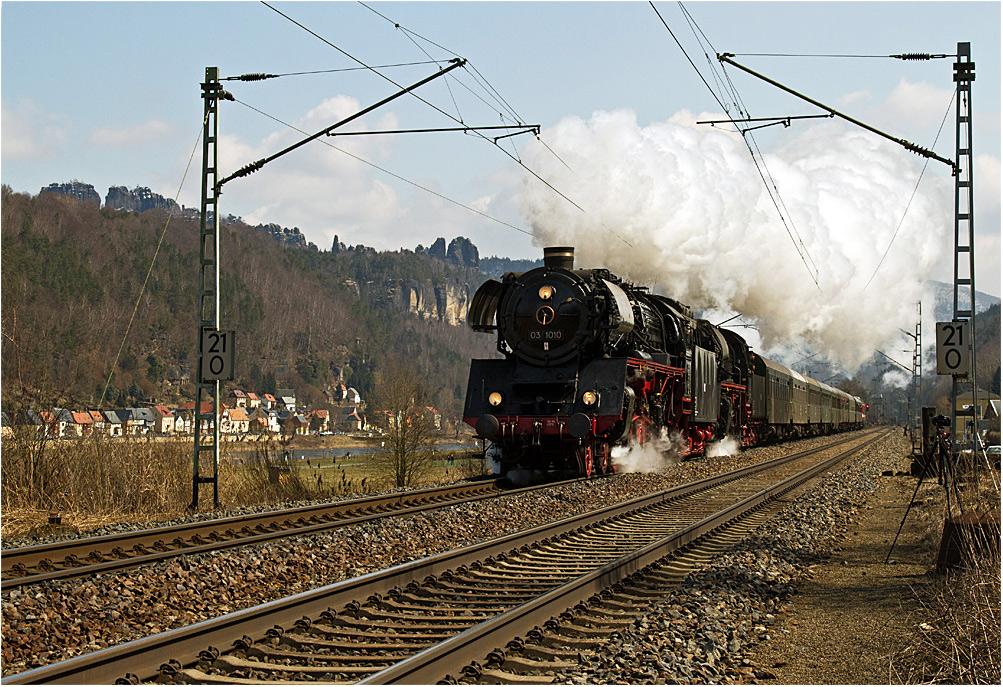 Dampfross 03 1010 aus Halle/Saale II